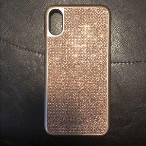 Michael Kors iPhone10 Rose Gold bing case